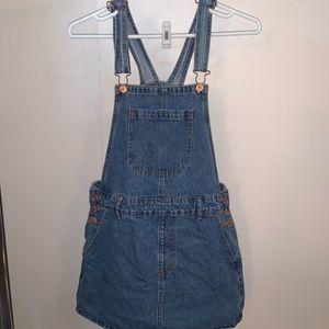 Forever 21 Medium overall skirt